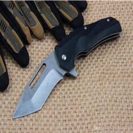 Best self defence knives online shopping - Best Hunting Knife Self Defence Tactical Cool Pocket Knife C Blade HRC Models Steel Camping Survival Folding Knifes Outdoor Tool