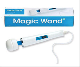 Barato Massager Poderoso Da Varinha-Hitachi Magic Wand Massager, AV Vibradores poderosos, Magic Wands, Full Body Personal Massager HV-260 caixa de embalagem 110-250V DHL