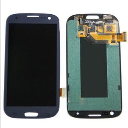 Samsung Galaxy Lcd Replacement Canada - All Tested White Blue LCD Screen Replacement For Samsung Galaxy S3 LCD, Full Assembly For Samsung S3 LCD with touch Free