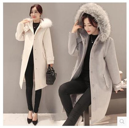 Discount White Wool Coats For Ladies | 2017 White Wool Coats For ...