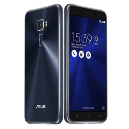 China 4GB 64GB ASUS ZenFone 3 ZE552KL 64-Bit Octa Core Qualcomm Snapdragon 625 Android 6.0 5.5 inch 1920*1080 FHD 16MP Camera Touch ID Smartphone cheap asus camera suppliers