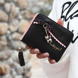 Magic wallets online shopping - women s wallet with zipper Lady purse in the shape of anime wallets Cat Leather Magic Wallet Women carteira feminino YHEL