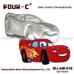 $enCountryForm.capitalKeyWord Canada - Wholesale- High quality Racing Car Aluminum Baking Pans Cake Baking Dish Pan for Baking Aluminum forms for cake BakewareTools Cake Tools