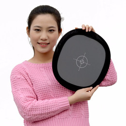 """Card Balance NZ - Wholesale- Lightdow 12 """" Inch 30cm 18% Foldable Gray Card Reflector White Balance Double Face Focusing Board with Carry Bag"""