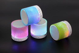 $enCountryForm.capitalKeyWord Australia - LED Night Light Bluetooth Mini Speaker Wireless Stereo Sound Box with Mic Handsfree for iPhone Samsung TF USB Music Player Loudspeaker New