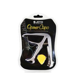 China JOYO JCP-02 Durable Silver Metal 3 In 1 Multifunction Guitar Capo Bottle Opener Guitar Bridge Pins Puller&JOYO Guitar Picks suppliers