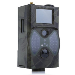 online shopping HC300M NM Infrared Night Vision Hunting Camera M Digital Trail Camera Support Remote Control G MMS GPRS GSM for Hunting TB