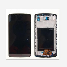 Discount lg g3 parts - For LG G3 D850 D851 D855 VS985 LCD Display Touch Screen Digitizer With Frame Replacement Parts 1pcs lot free shipping