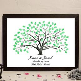 Fingerabdruck Baum Gästebuch Online Großhandel Vertriebspartner