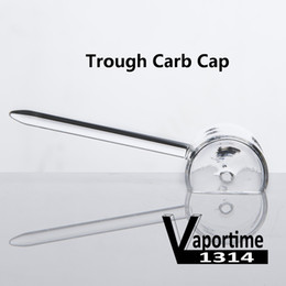 $enCountryForm.capitalKeyWord Canada - Trough Carb Cap Quartz Banger Nail 3.4 Inch With Upward Or Downward Handle Two Air Holes Dozer Nails Dab Rig 356