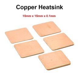 Vga heat sink online shopping - x15x0 mm DIY Copper Shim Heatsink thermal Pad Cooling for Laptop BGA CPU VGA Chip RAM IC Cooler Heat sink
