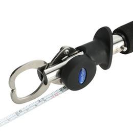15 kg / 33LB Peso Acero Inoxidable Pez Labio Agarre Agarrador Pesca Gripper con Escala de peso Regla Herramienta de pesca Aborda el envío gratuito