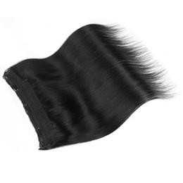 26 7a Grade Hair UK - Elibess Grade 7A--Length 14INCH-26INCH Halo Hair Extension 100Gram one piece Real Brazilian Virginn Hair Flip In Hair Extensions