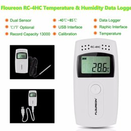Az8809 Usb Temperature Recorder Led Display Temperature Logger Hygrothermograph Humidity Data Logger Temperature Humidity