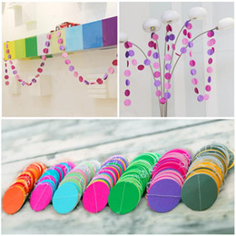 Wall Curtains Canada - 3D wafer holiday ornaments curtain wall hangings spent widening holiday party hotel mall scene decoration christmas wall decorations