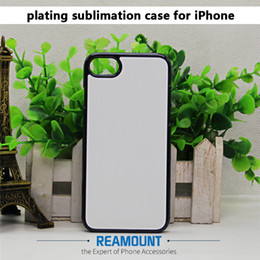 "sublimation aluminium iphone NZ - 100 pcs 2D Sublimation Blank TPU Soft Case Cover For iPhone 6 6s 4.7"" with Aluminium Back Inserts Glue DIY for Samsung Note3"