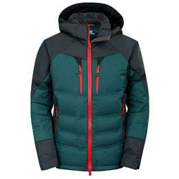 China Top Quality Winter men Down Hoodies Jackets Camping Windproof Ski Warm Down Coat Outdoor Casual Hooded Sportswear COAT 220 suppliers