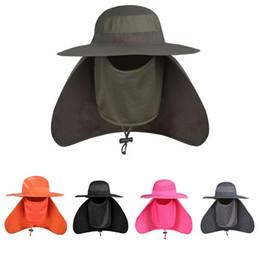 Мужская Brim Sun Block быстрая сушка Рыбалка Sun Cap восхождение ведро шляпа ветрозащитный / УФ-защита / быстрая сушка новый на Распродаже