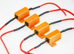 $enCountryForm.capitalKeyWord NZ - EMS 25W 6ohm Gold Fuse LED Bulb Motorcycle High Power Fog Turn Brake Signal Load Resistor Wiring Canbus No Error Fix LED Flash Blink Hyper