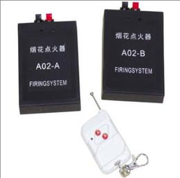 A02 sistema de disparo duplo controle remoto 2 canais de sistema de disparo