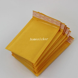 Wholesale 4 inch cm cm Kraft Bubble Mailers Envelopes Wrap Bags Padded Envelope Mail Packing Pouch