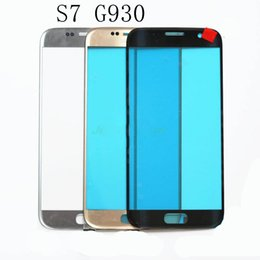 Discount galaxy keyboard dock Replacement Lcd Front Touch Screen Outer Glass Lens For Samsung Galaxy S7 G930 G930A G930F G930T