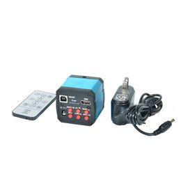 $enCountryForm.capitalKeyWord UK - Freeshipping 14MP HDMI 1080P HD USB Digital Industry Video Inspection Microscope Camera Set TF Card Video Recorder