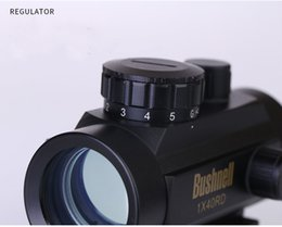 Wholesale 2017 X40 Tactical Holographic Red Green Dot Rifle scope Sight For mm mm Picatinny Weaver Mount Optical Sight Scope