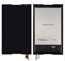 """Screen Lenovo Tablet Lcd NZ - Wholesale- FOR Lenovo Tab S8-50 S8-50F S8-50L S8-50LC 8"""" 1920*1200 Tablet LCD Display Panel + Touch Screen Digitizer Glass Sensor Assembly"""