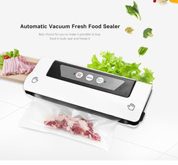 Electric Vacuum Food Sealer Automatic Vacuum Packing Plastic Sealing Machine Home Kitchen Appliances Fresh Food Saver With Bags from home electric appliance manufacturers