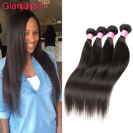 Brazilian virgin hair factory price online shopping - Ex factory price Cheap Brazilian Hair Bundles Silky Remy Straight Human Hair Extensions Malaysian Indian Peruvian Virgin Hair Bundle Deals