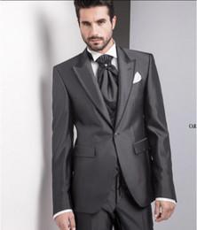 Discount Dark Charcoal Grey Suit | 2017 Dark Charcoal Grey Suit on ...
