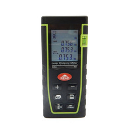China Freeshipping Digital Laser Distance Meter Measure Diastimeter Rangefinders Area volume Angle Tester tool T series 40M-60M-80M suppliers