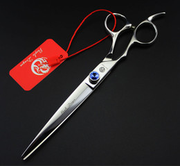 left hand hair 2019 - Wholesale- High Quality 7 Inch Kasho Hairdressing Scissors Hair Cutting Shears Professional Barber Scissors For Left Han