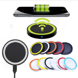 Wholesale Q5 Wireless Charger For Iphone X Charging Pad Home Wireless Fast Charger For SAMSUNG Galaxy S9 Note8 Power Chargers