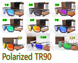 Bicycle glasses polarized online shopping - MOQ SETS MEN Polarized sunglasses TR90 Colorful sun glasses UV400 Bicycle Glass woman to peak sunglasses with caseA