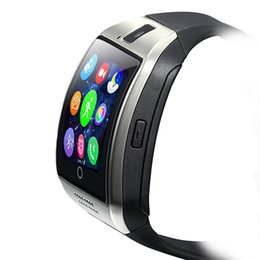 $enCountryForm.capitalKeyWord Australia - Q18 Bluetooth smart watch support SIM card NFC connection Health Smartwatches for Android smartphone with retail package