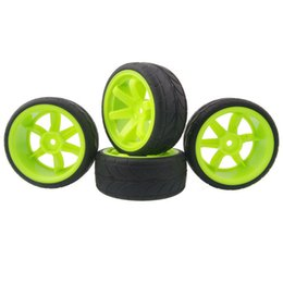 $enCountryForm.capitalKeyWord UK - RC HSP 703-6086 Rubber Tires & Wheel Rims 4P For HSP HPI 1:10 On-Road Racing Car