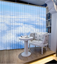 $enCountryForm.capitalKeyWord UK - Luxury European Modern blue and white cloud custom curtain fashion decor home decoration for bedroom