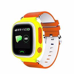 Digital Wrist Gps Australia - Q80 Kids Smart Watches LBS GPRS GPS Tracker Safe Location Device SOS Call Anti Lost kids digital smartwatchs for IOS Android PK Q90