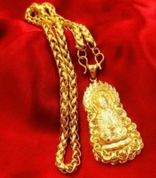 noble high quality gold filled kuanyin pendant necklace 1688 eyu