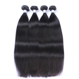 $enCountryForm.capitalKeyWord UK - Peruvian Straight Hair 100% Unprocessed Virgin Straight Human Hair Extension Cheap Remy Hair Bundles Natural Soft Full Double Weft