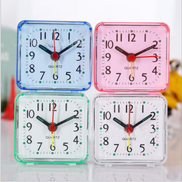 2017 alarm clock Home Outdoor Portable Cute Mini Cartoon Multi-function Trip Bed Beep Desktop Alarm Clock Mini Portable Table Clocks