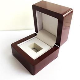 الجملة خواتم مربعات علب الهدايا علب المجوهرات بطولة حلقة صندوق خشبي