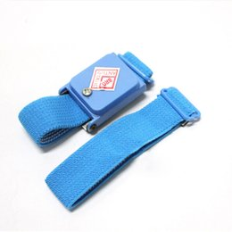 Hand & Power Tool Accessories Power Tool Accessories Antistatic Wristband Esd Wrist Strap Blue Metal Discharge For Electrician Ic Plcc Worker Antistatic Bracelet Free Shipping Attractive Fashion