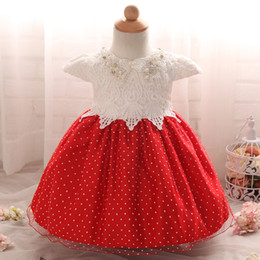 $enCountryForm.capitalKeyWord Canada - 2017 New European and American hight quality full moon baby dress with lace pearl