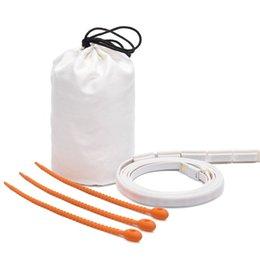 $enCountryForm.capitalKeyWord UK - USB LED Strip Light Flexible White Warm Light Portable 1.5m Waterproof SMD 3528 Lantern Lamp For Camping Hiking DC5V