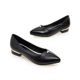 black blocks UK - casual block low heels point toe women ladies shoes