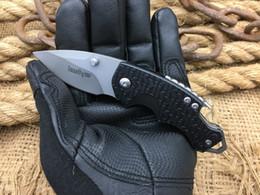 Hot folder online shopping - Hot Kershaw Folding Blade Knife Steel Tactical Folder Knives Mini Outdoor Pocket Knife EDC Gift Survival Knives Tools free shippin