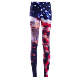 733794aa898bb5 2017 NEW 3881 Old Glory American flag Bald Eagle Prints Sexy Girl Pencil Yoga  Pants GYM Fitness Workout Polyester Women Leggings Plus Size